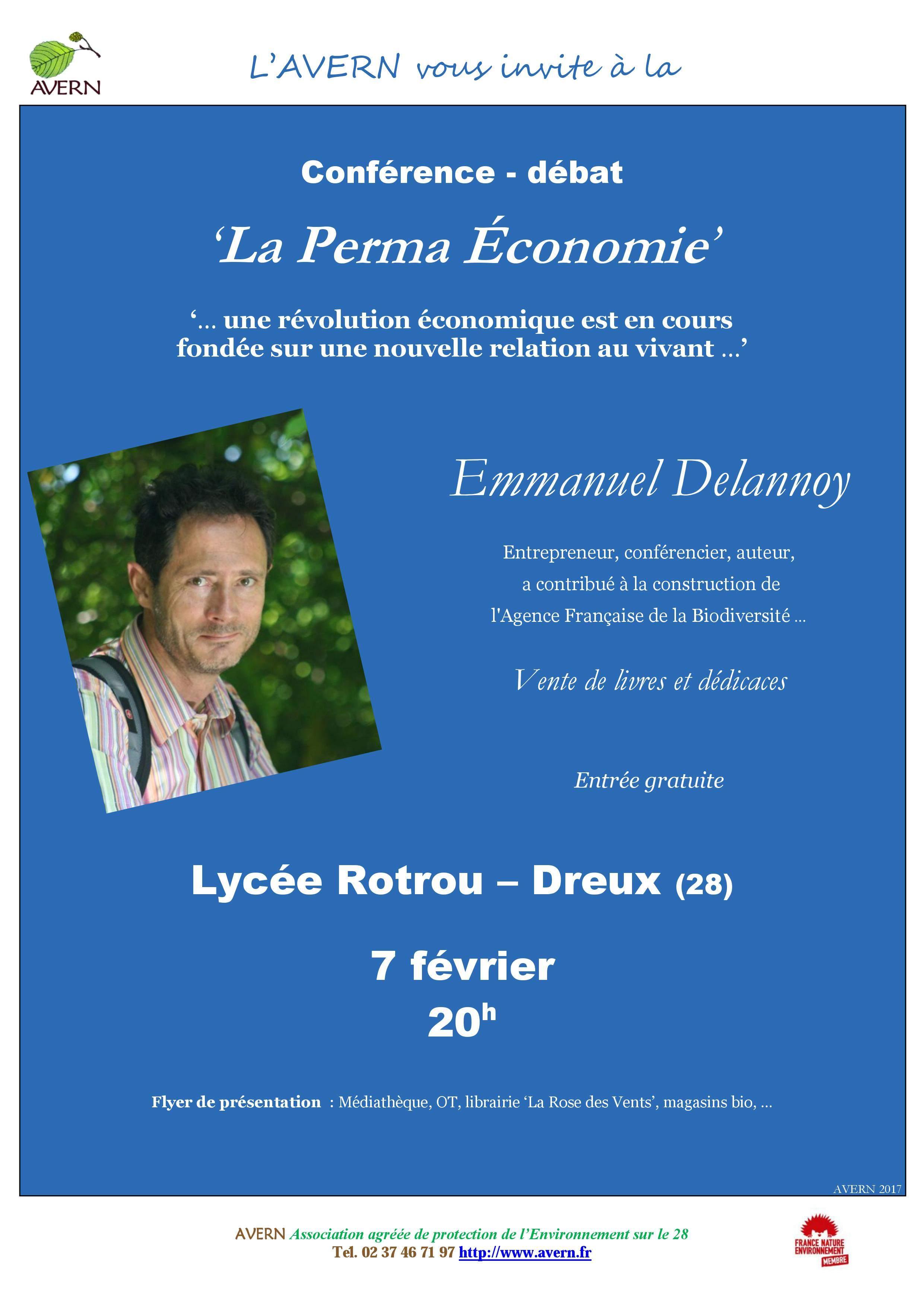 Conférence Perma-Economie
