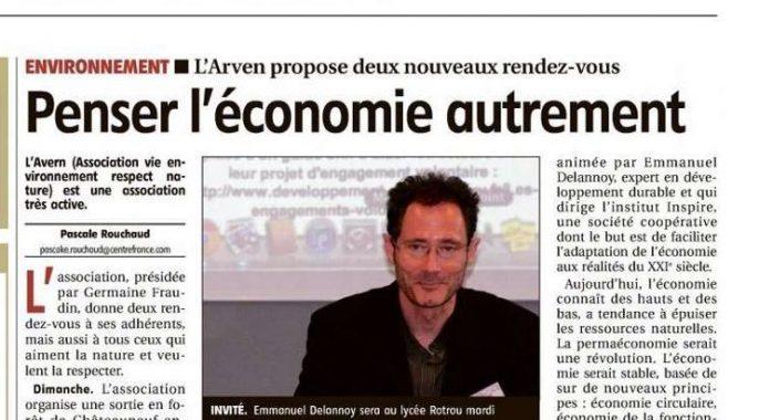 Le 7 février : Penser l'économie autrement